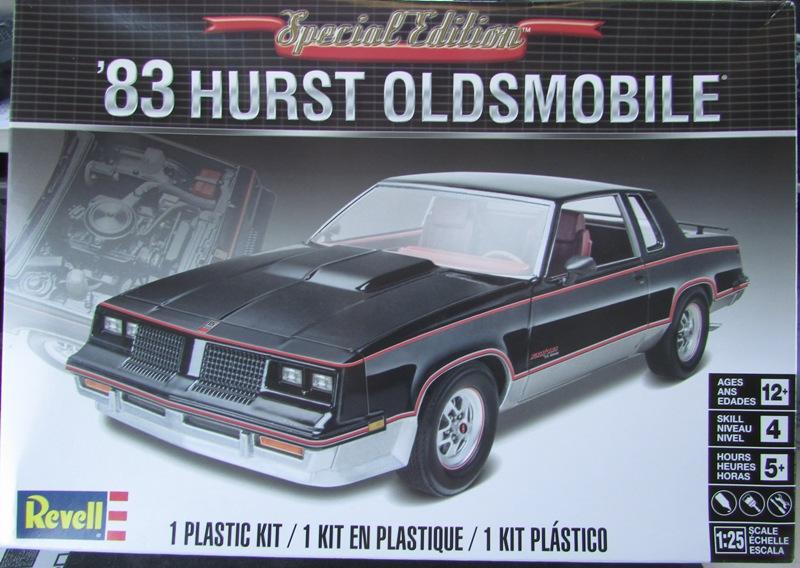 1983 Oldsmobile Hurst par Revell  001-vi