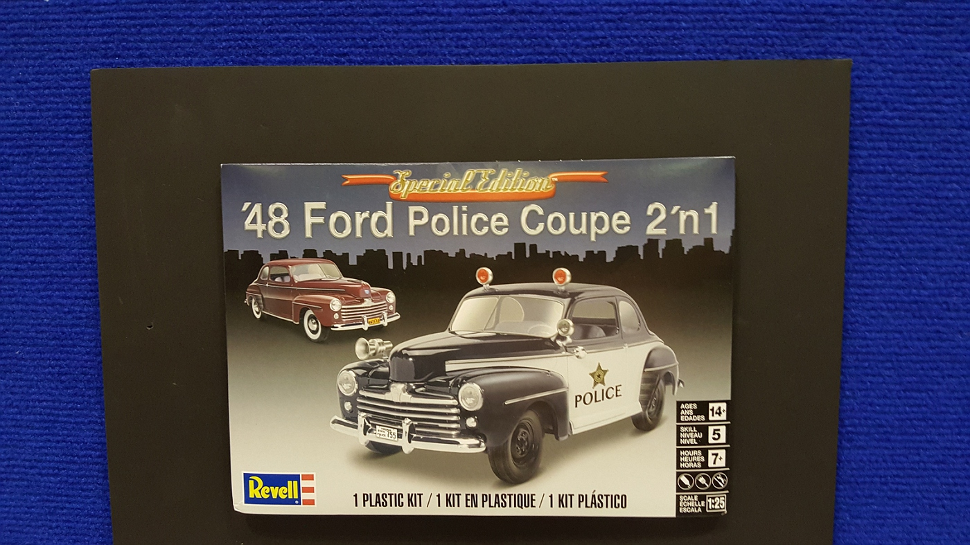 new release plastic model car kitsStock  Revell 1948 Ford coupe police car  Scale Auto Magazine