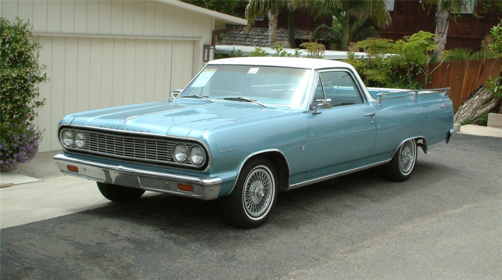 #57 : 1973 Chevrolet ElCamino SS454  20810_Front_34_Web-vi