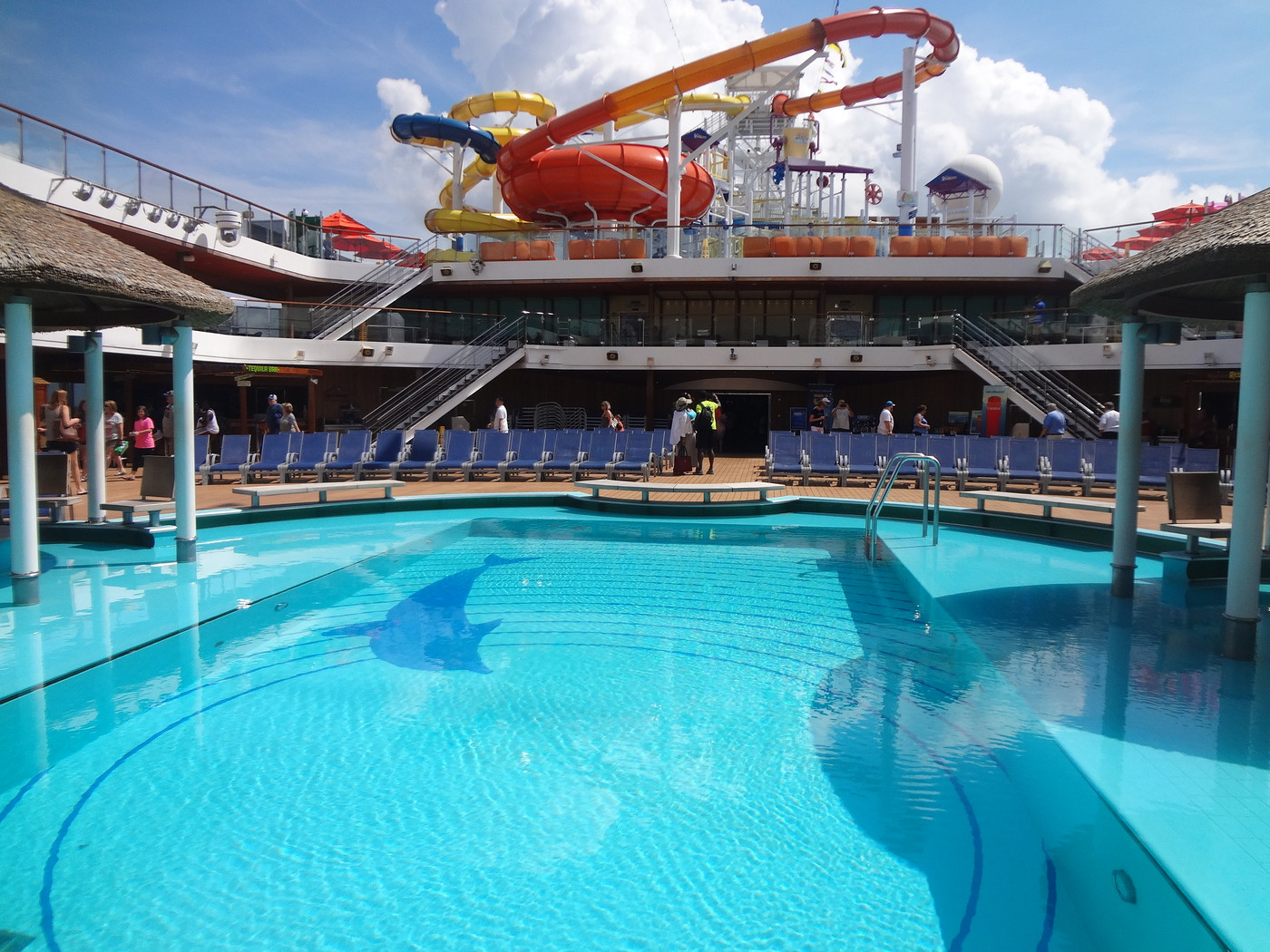Carnival magic september 24 2016 report cruise critic for Pool trade show magic