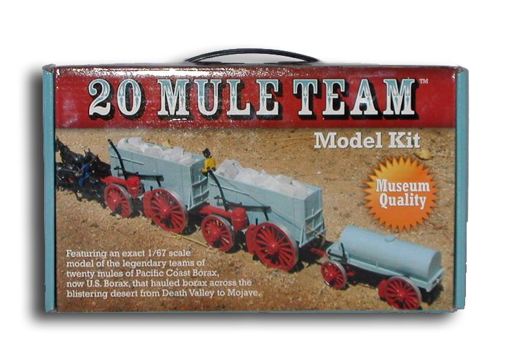 Tv cars in kits page 4 general model cars magazine forum for 20 mule team borax swimming pools