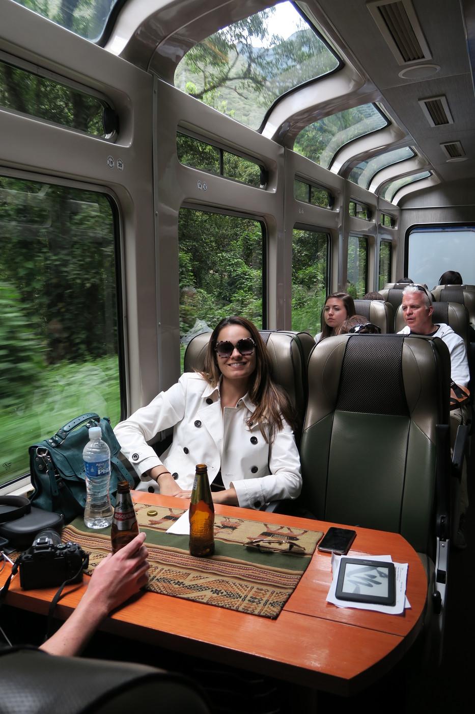 viajar de trem no Peru