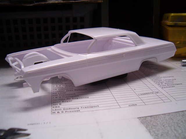 1962 Chevrolet Impala Revell terminé et les Beach boys 017-vi