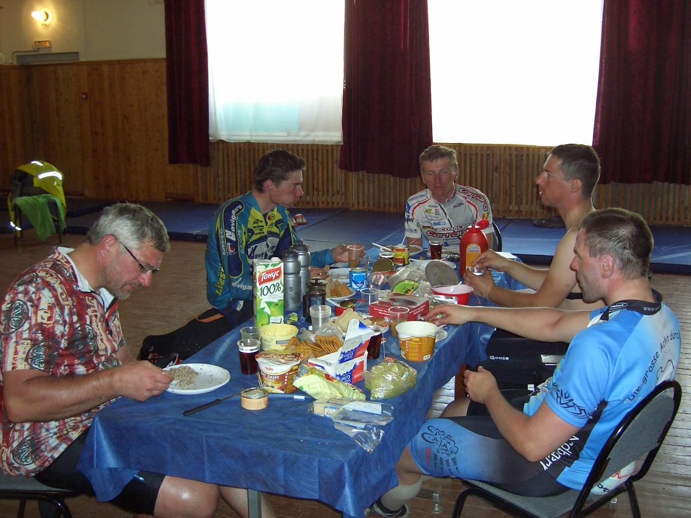 Toon, Pavel, Dimitriy, Andrew & Frank in Pitkyaranta