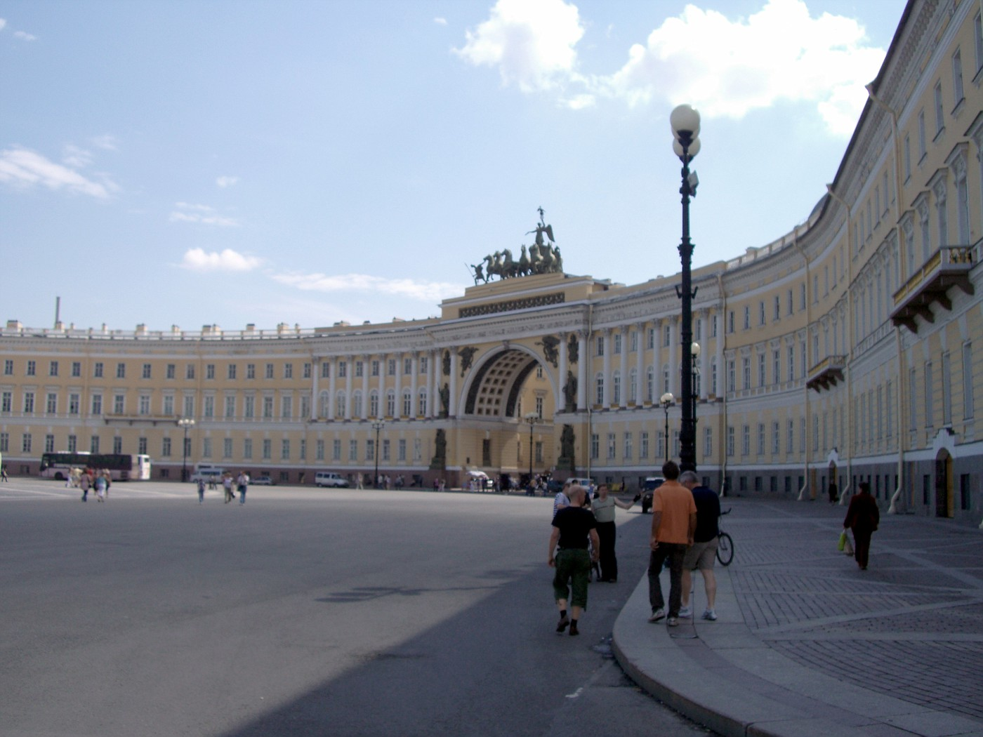 St. Petersburg, Dvorkovaya-Platz