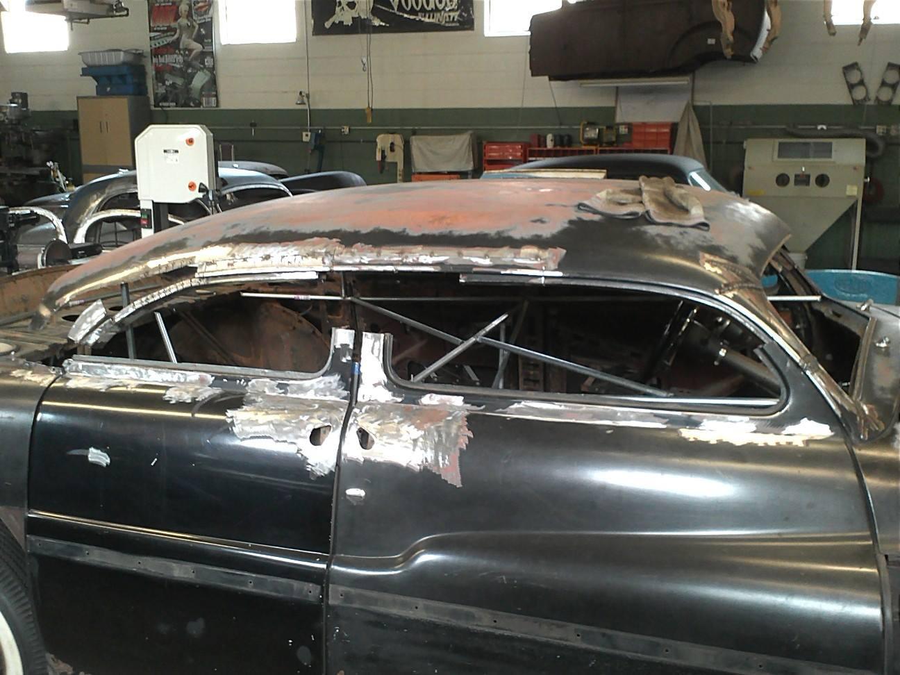 1950 mercury 4 door custom by voodoo larry custom car for 1950 mercury 4 door for sale