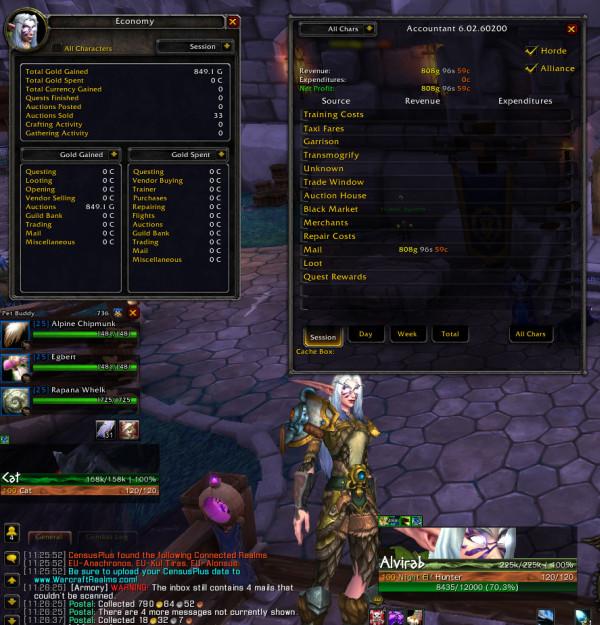 Analyst - Addons - World of Warcraft - CurseForge