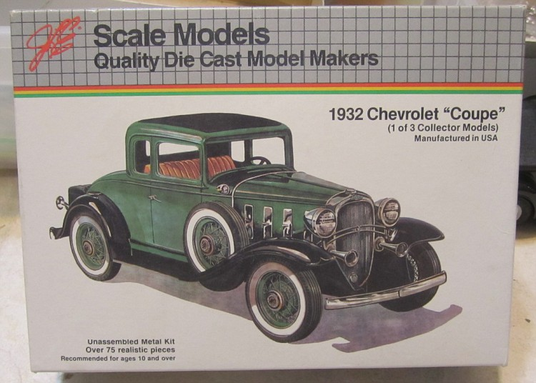 1932 Chevy Coupe - Diecast and Resincast Models - Model Cars