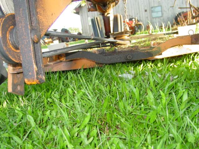 Belt problems -- Woods L306 mower under a CA - AllisChalmers