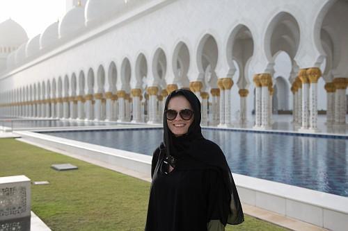 Mesquita de Abu Dhabi