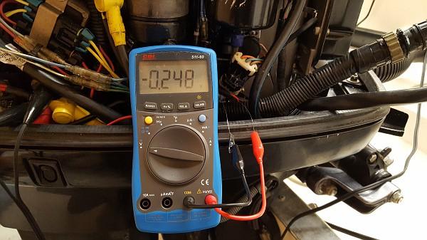 2000 Mercury 200EFI intermittent loss of power, SN 0T158142