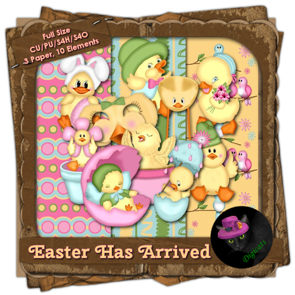 Easter Has Arrived BAK Pack 2