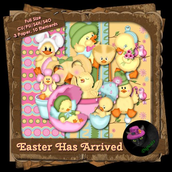 Easter Has Arrived BAK Pack 2