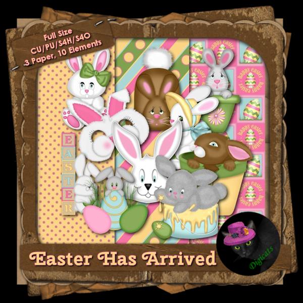 Easter Has Arrived BAK Pack 1