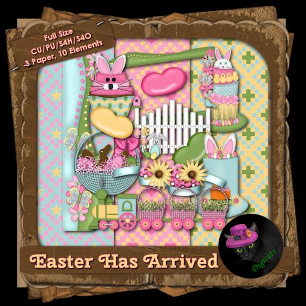 Easter Has Arrived BAK Pack 5