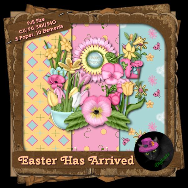 Easter Has Arrived BAK Pack 4