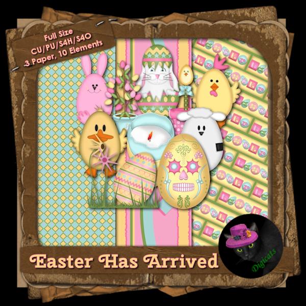 Easter Has Arrived BAK Pack 3