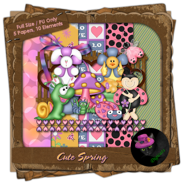 Cute Spring Mini Kit 6 - Beetle Mania