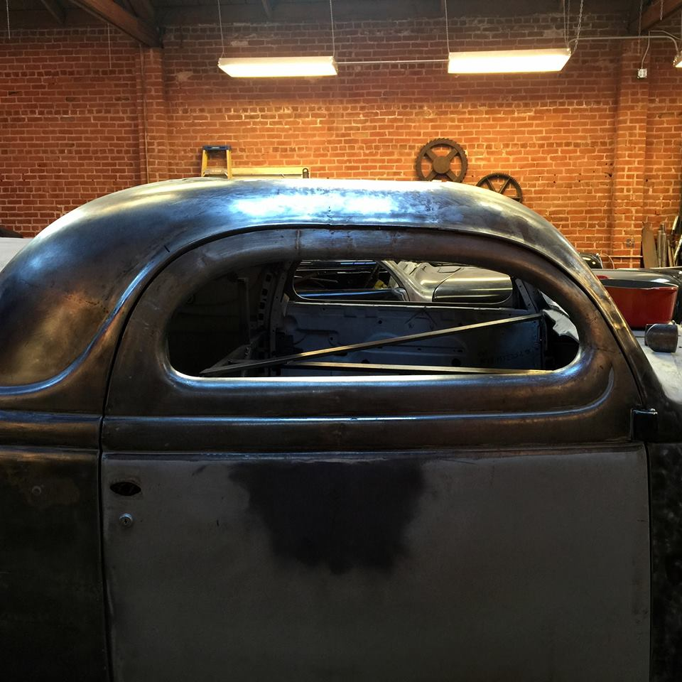 1936 Ford Chopped Coupe SOLD