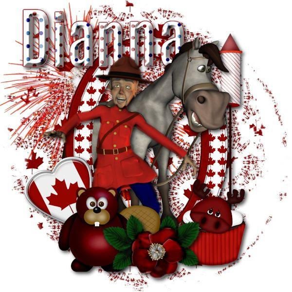 Celebrate Canada - Dianna