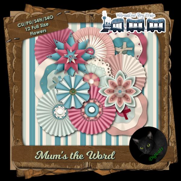 Mum's The Word Flower Pack (Full)