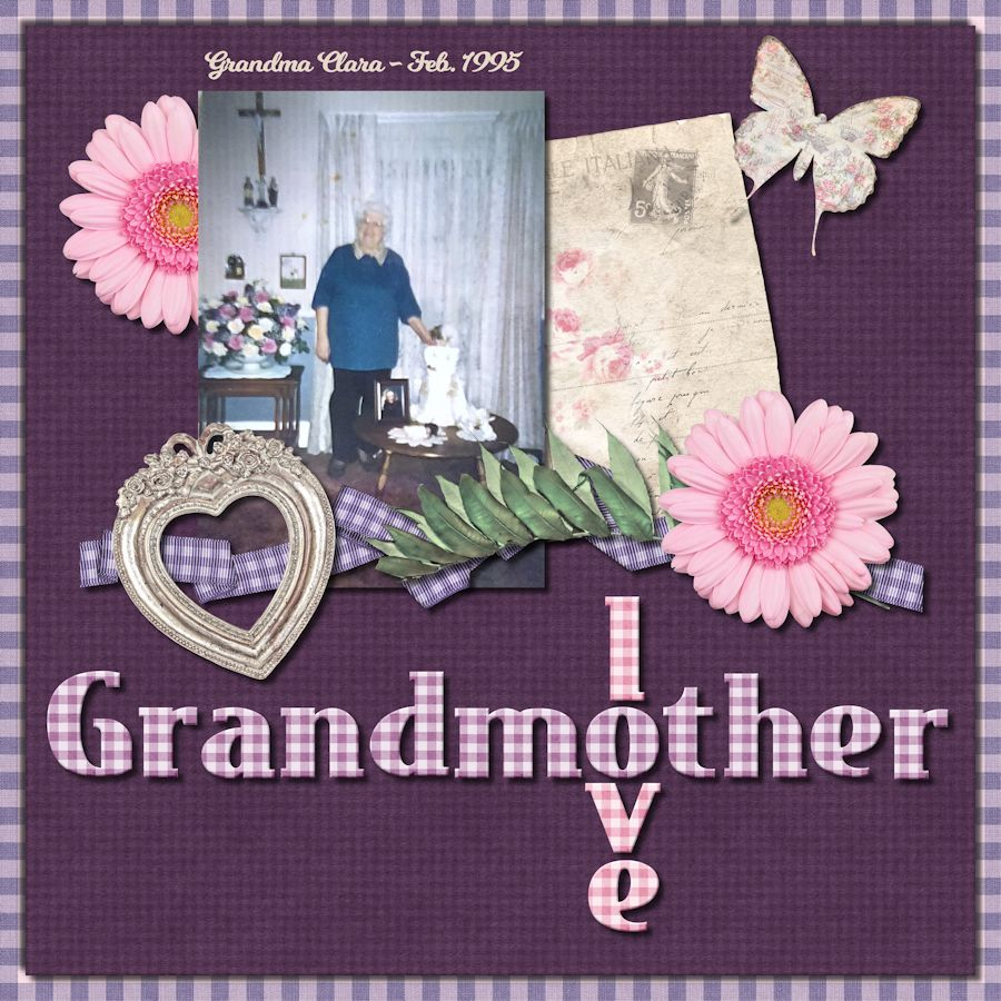 Grandmother = Love