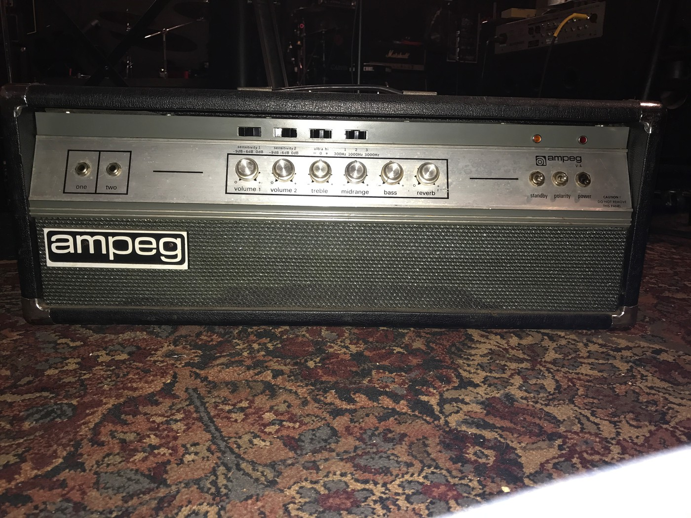 NAD (Belated): Ampeg V-4B w/V-4 Cabinet | The Gear Page