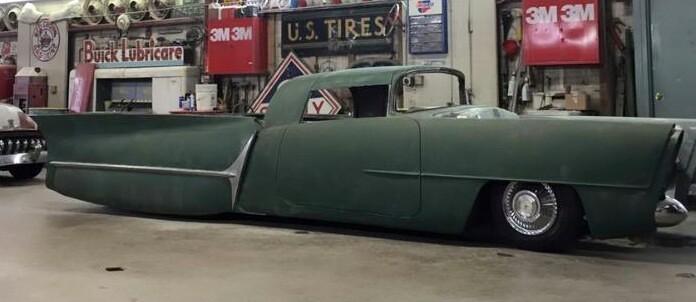 Voodoo Larry Recreating The GOLDEN SAHARA Custom Car - Cool car customizations