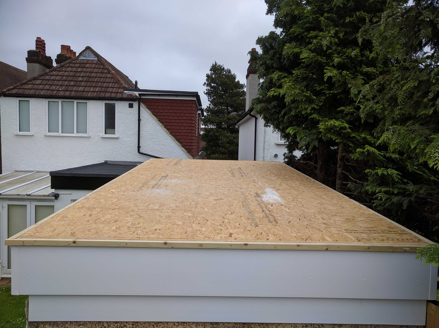 Warm Flat Roof Connected To Cold Pitched Roof Confused