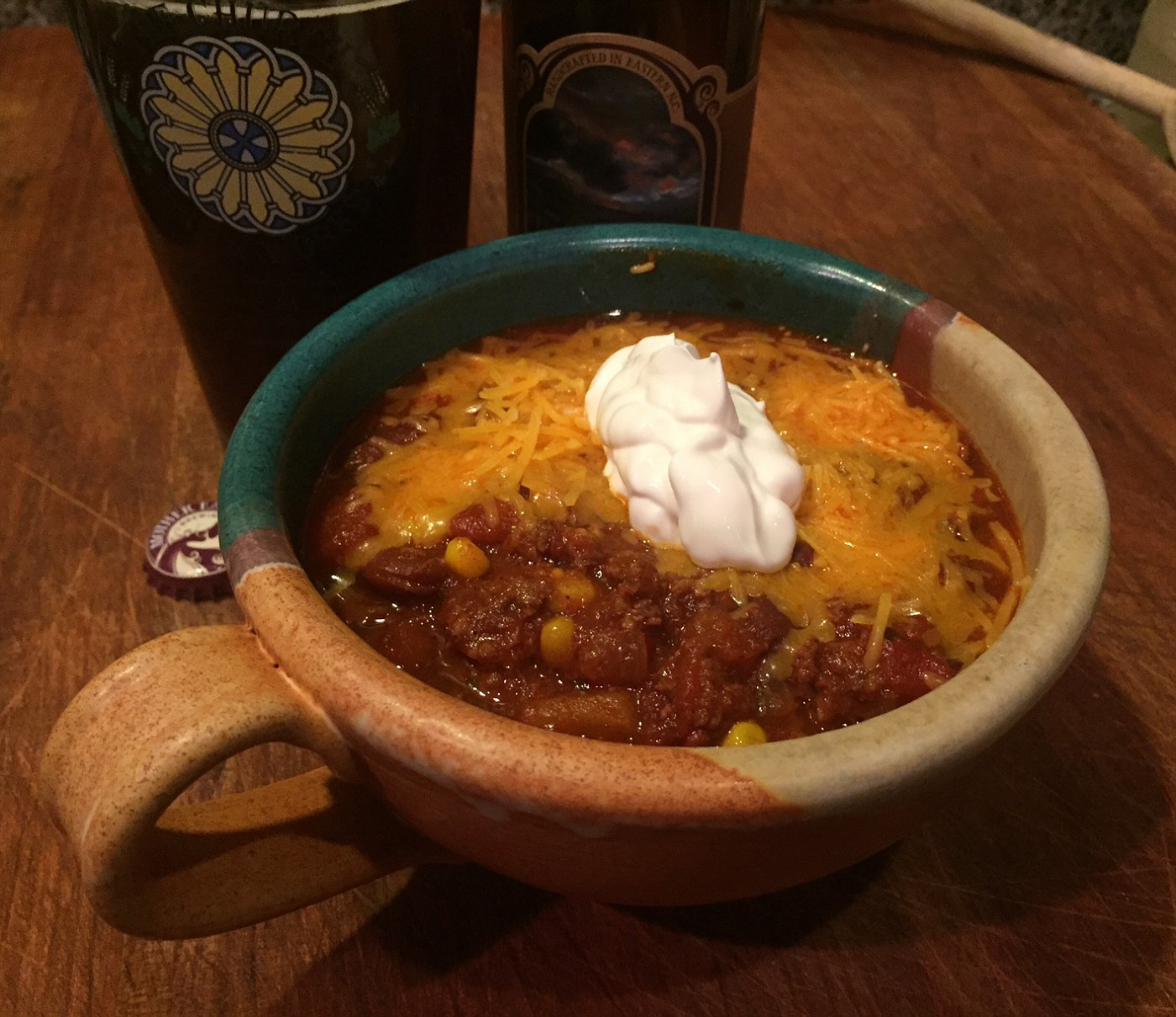 Smoked Chili Finally A Technique That Yields Bge Flavors In My Bowl Big Green Egg Egghead Forum The Ultimate Cooking Experience