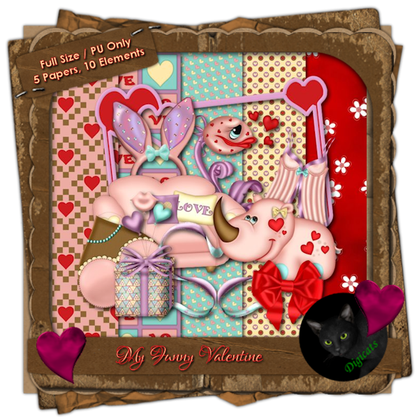 My Funny Valentine Mini Kit 1