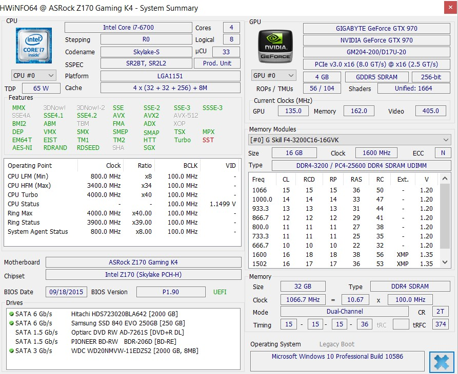 RAM clock speed listed as 3200, but only showing as 1066? | Tom's