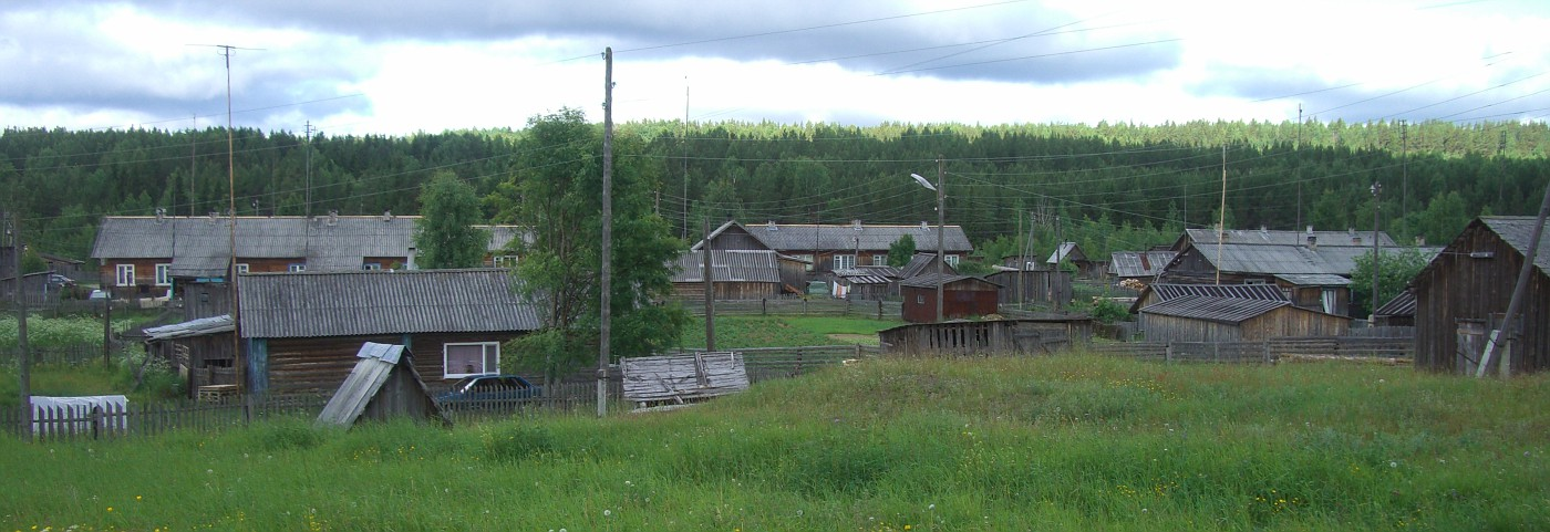 Dorf in Karelien