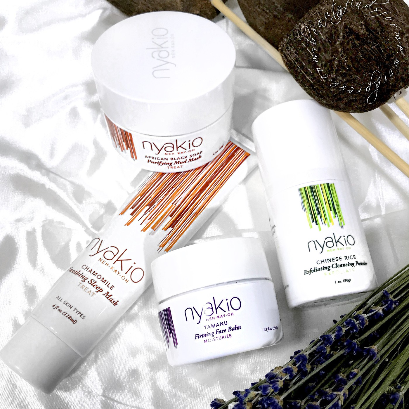 Nyakio: Natural, Multi-Cultural Skin Care For All Ages, Skin Types andBackgrounds