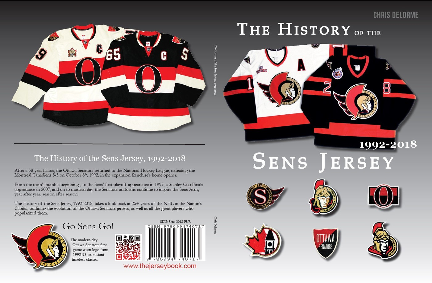 Game Worn Ottawa Senators Jerseys