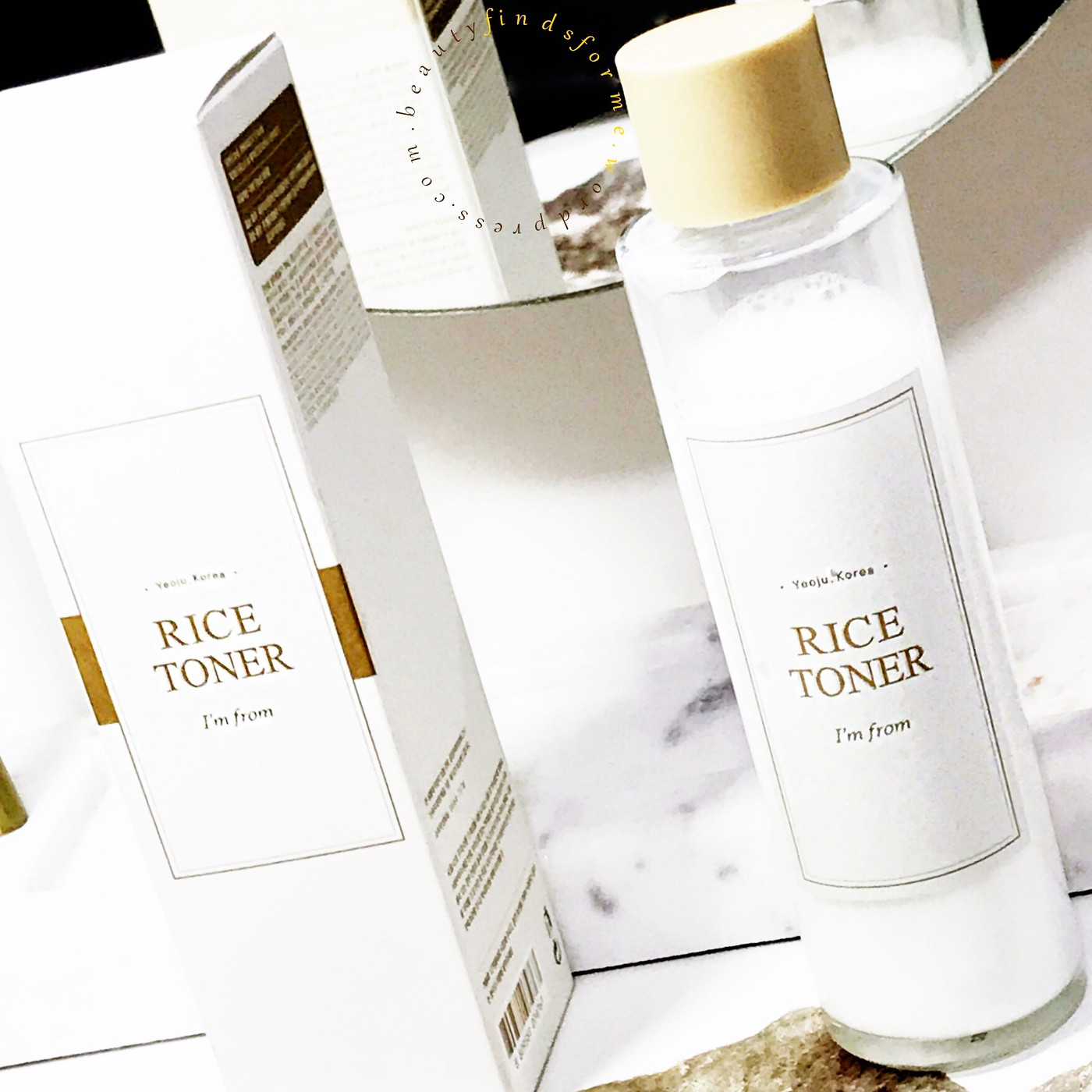 I'm From Rice Toner Review – Unboxing Beauty