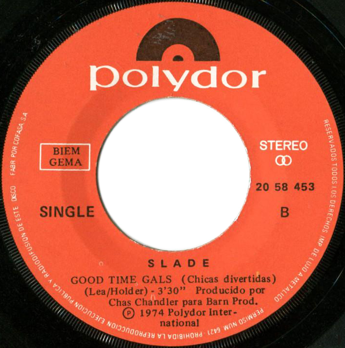 Slade Everyday Spain side 2