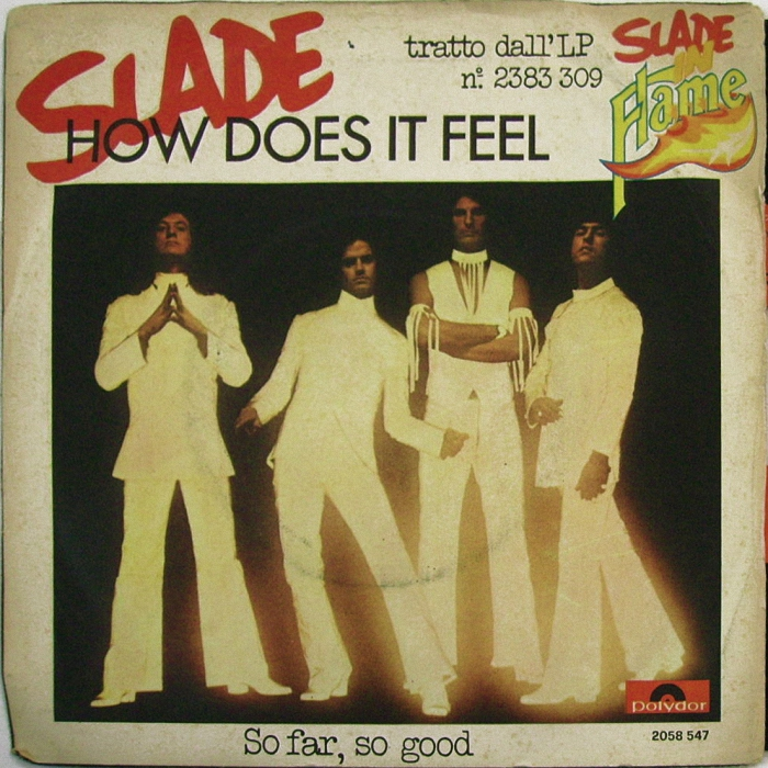 Slade How Does It Feel Italy front