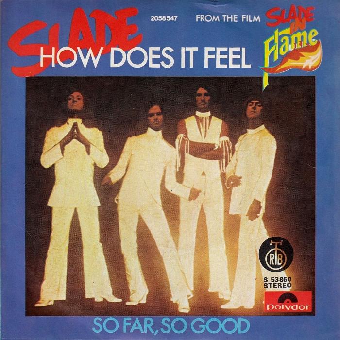 Slade How Does It Feel Yugoslavia front