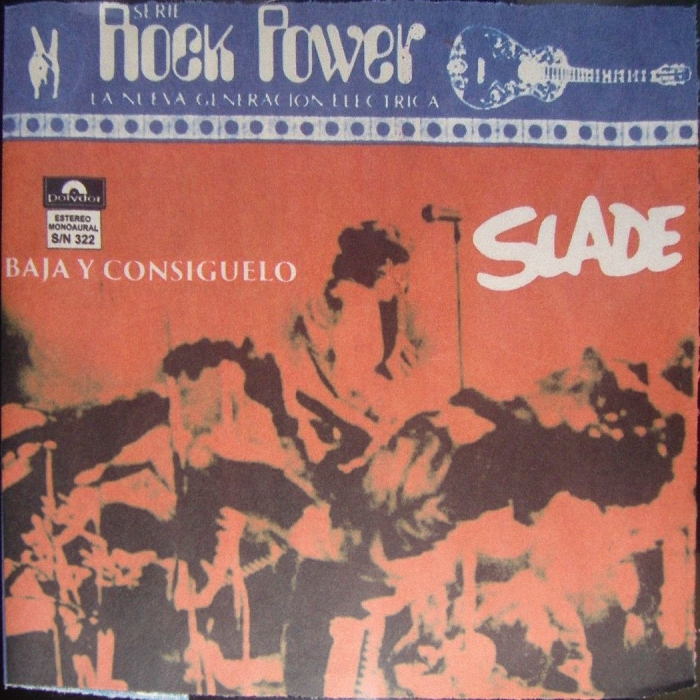 Slade Get Down And Get With It Mexico front