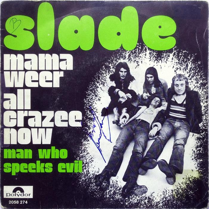 Slade Mama Weer All Crazee Now Belgium front