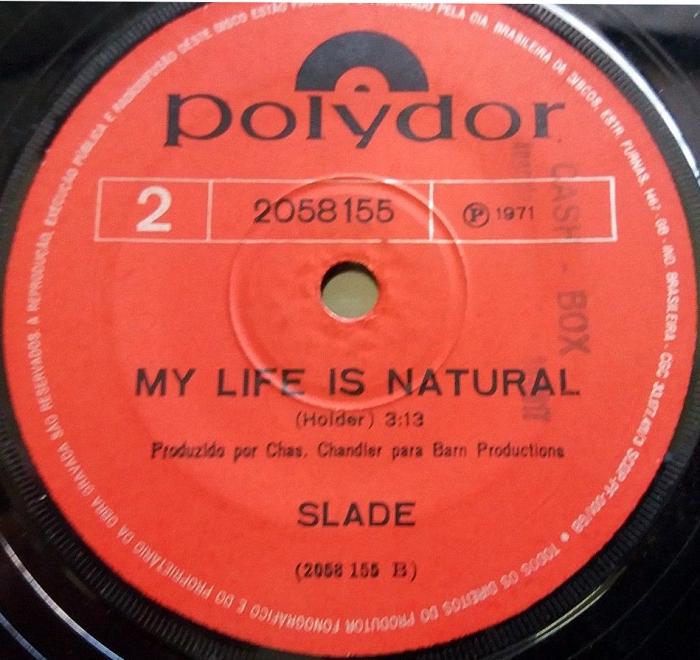 Slade Coz I Luv You Belgium side 2