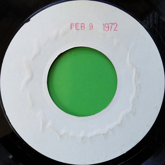 Chicory Son of My Father U.S.A. test pressing side 2