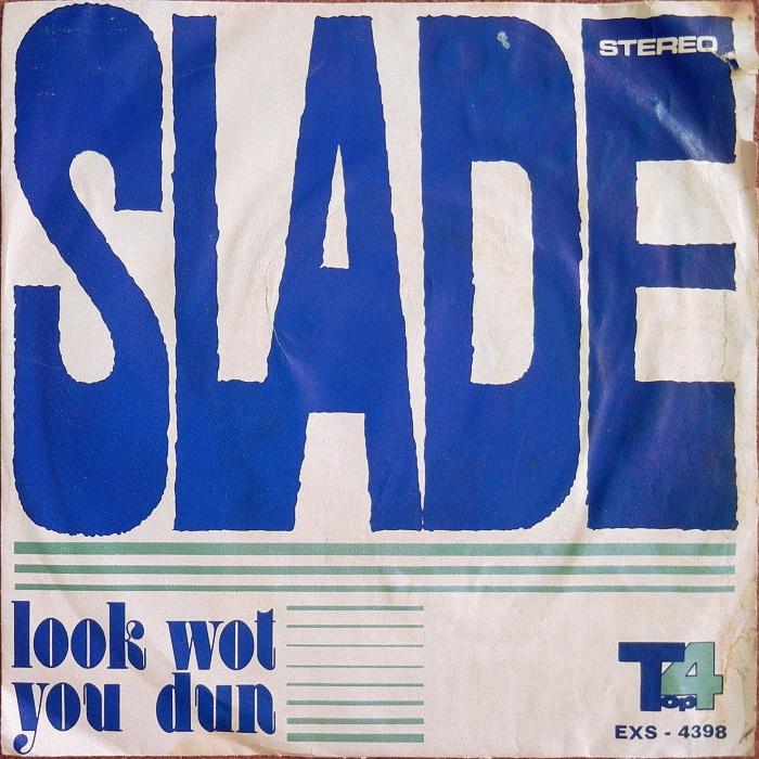 Slade Look Wot You Dun Iran front