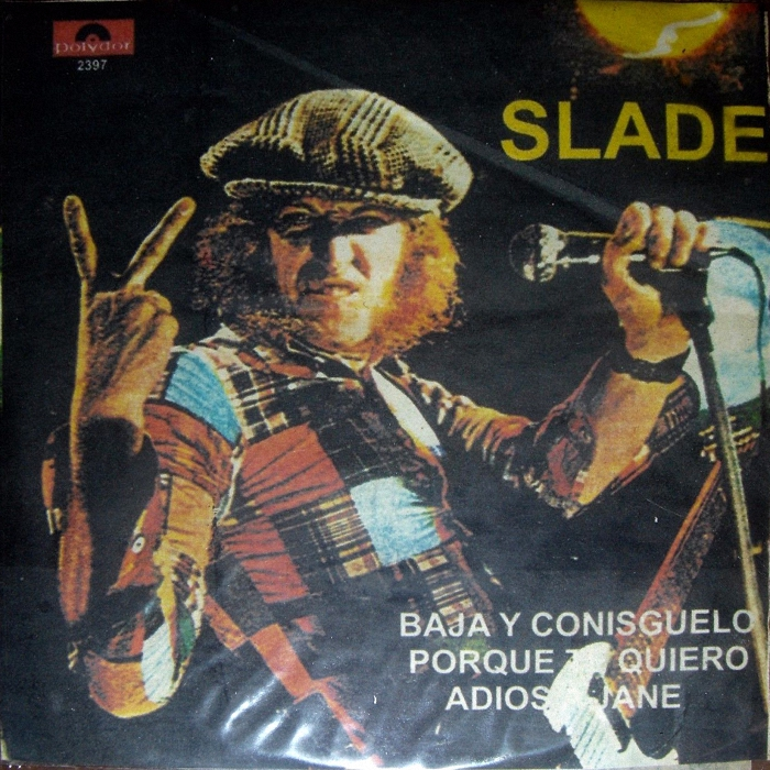 Slade Get Down And Get With It Mexico (bootleg?) sleeve front
