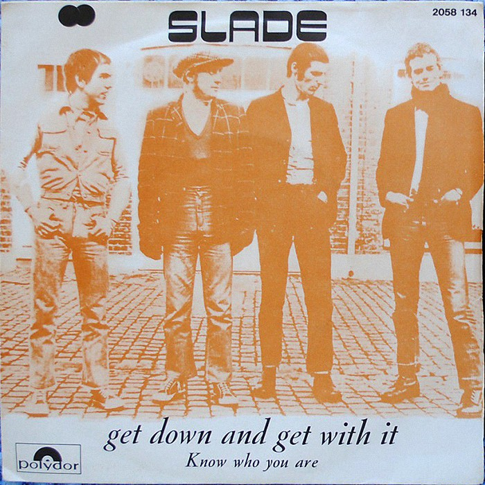 Slade Get Down And Get With It France front