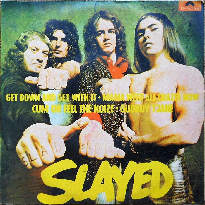 Slade Get Down And Get With It EP Brazil front