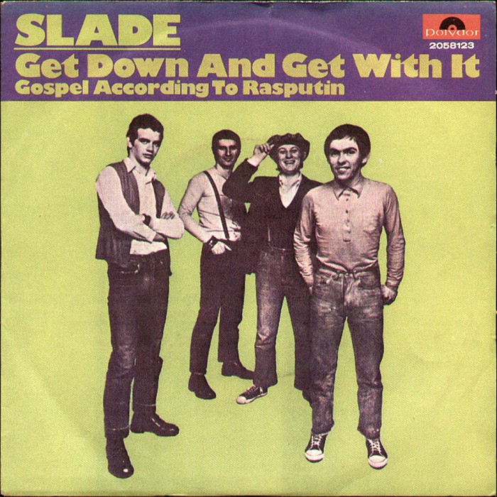 Slade Get Down And Get With It Italy front