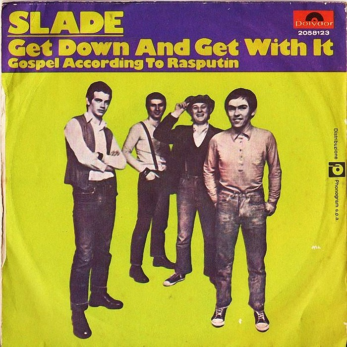 Slade Get Down And Get With It Italy back