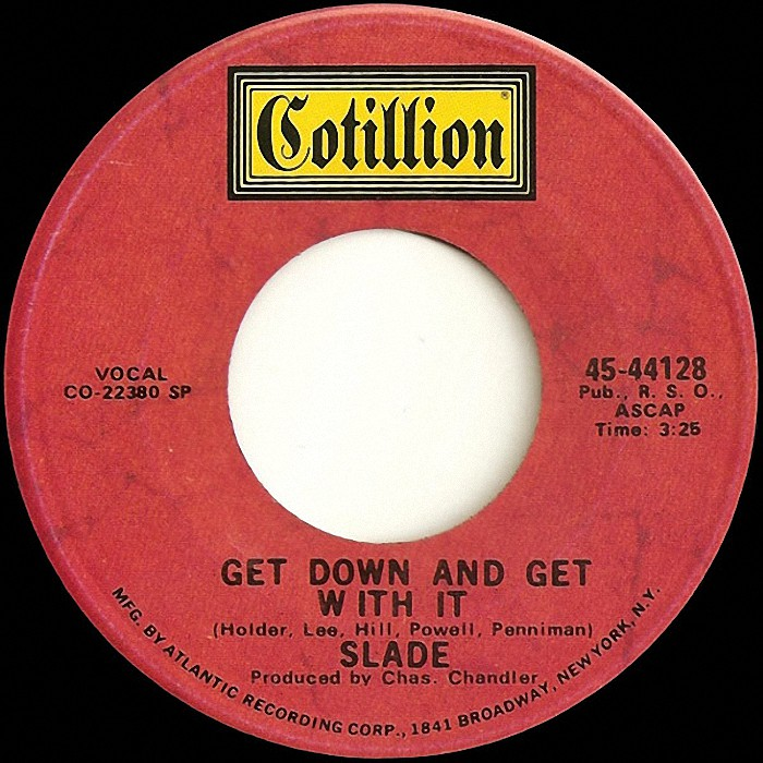 Slade Get Down And Get With It USA side 1